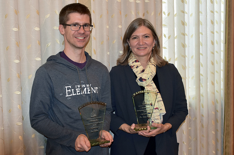 Education doctoral student and professor claim ATA science teaching awards