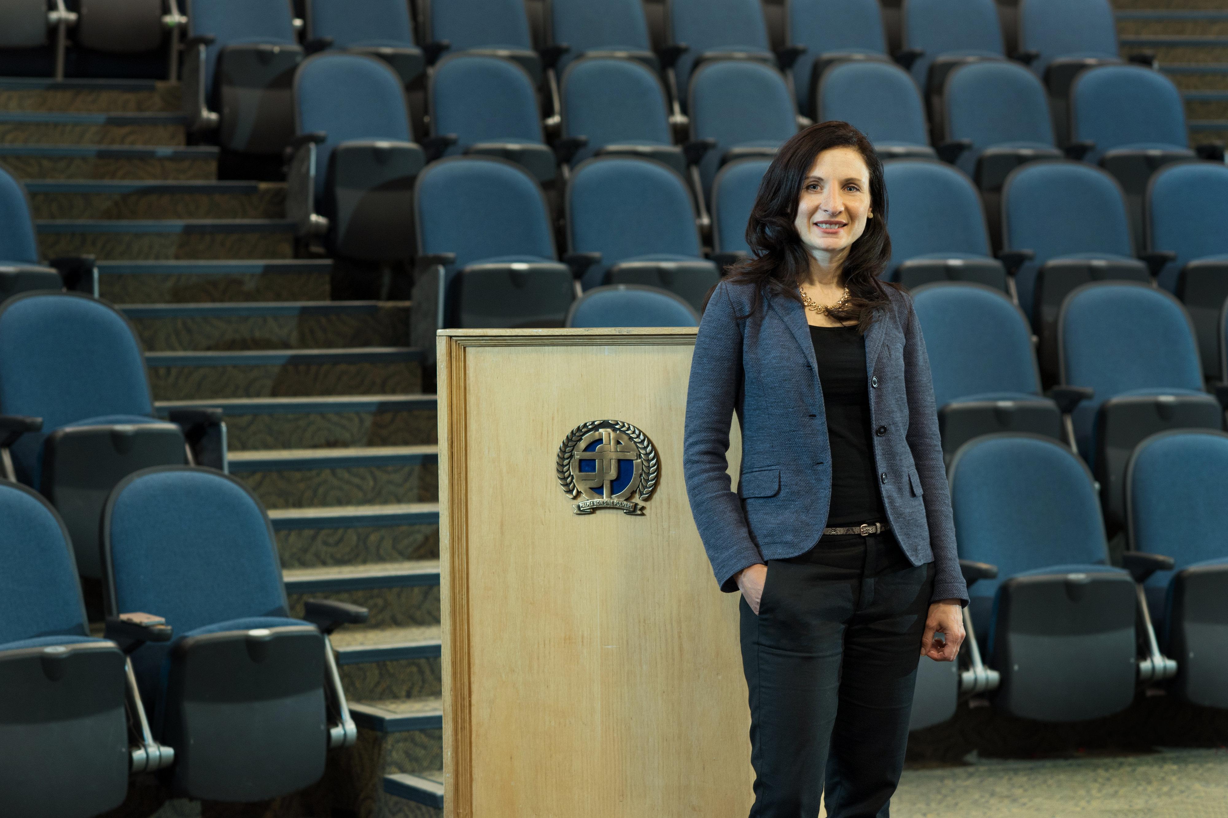 Carla Cuglietta's classroom is the world